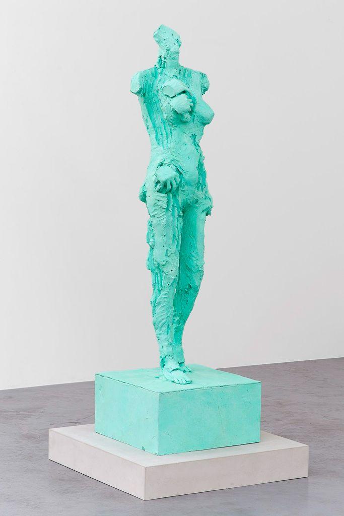 david altmejd,untitled-2, bronze-bodybuilders, 2015, xavier-hufkens, brussels, sculpture