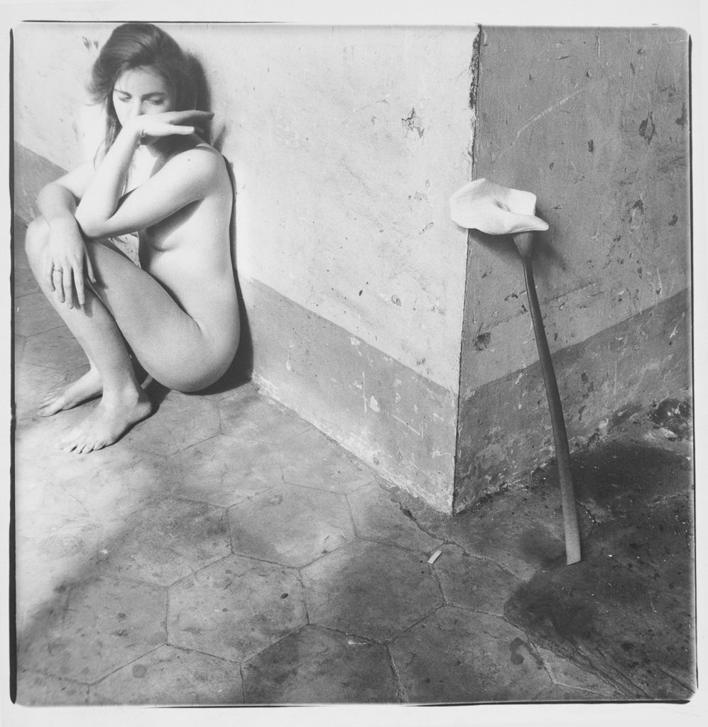 francesca-woodman, photography, surrealist, fluxus, nude, henri-cartier-bresson, exhibition, paris, france, 2016, on-being-an-angel