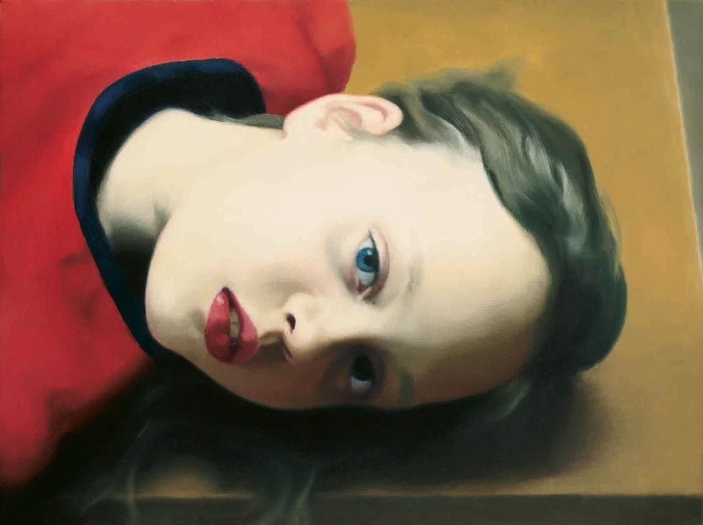 gerhard richter, betty, hyperrealism, photography
