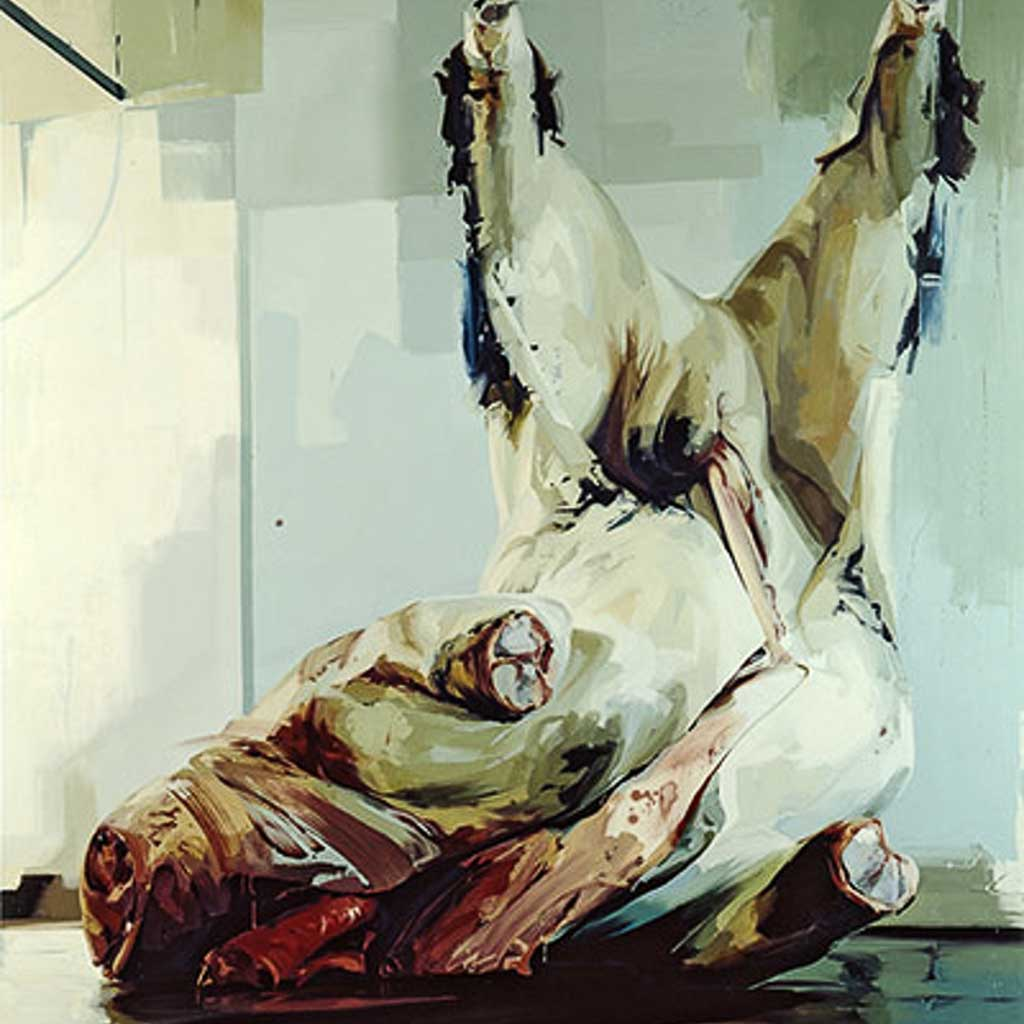 jenny saville, painting, nude, female, feminism, portrait, nude, young-british-artists