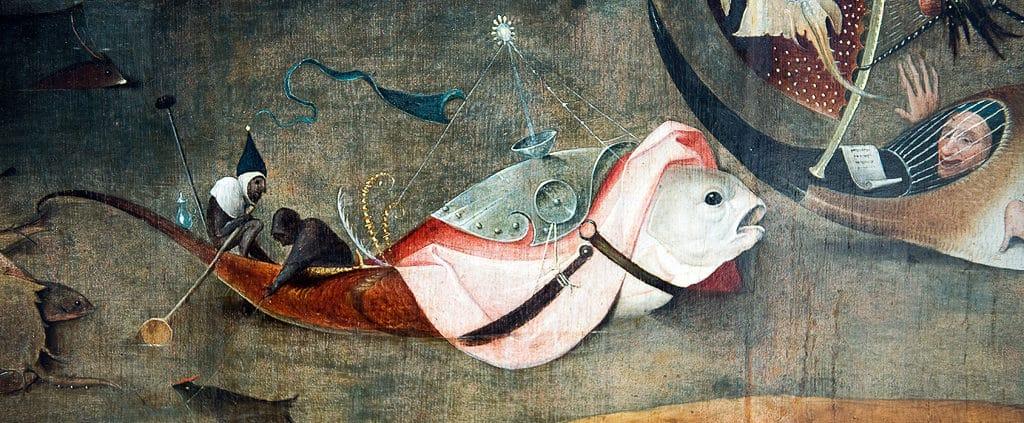 jerome bosch, tentation de saint Antoine
