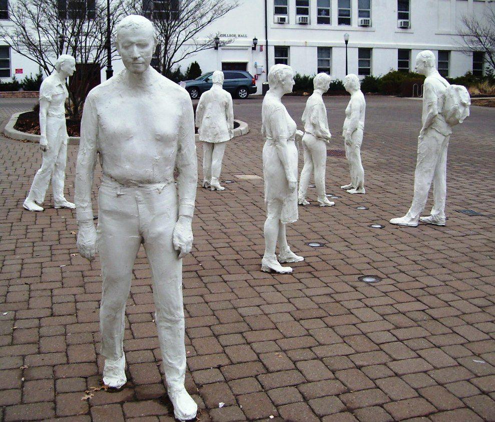 George Segal, sculpture, hyperrealism