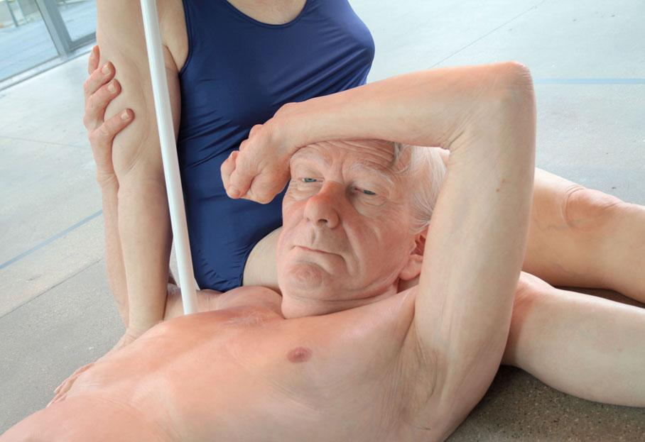 ron mueck, art-contemporain, sculpture, hyperrealisme