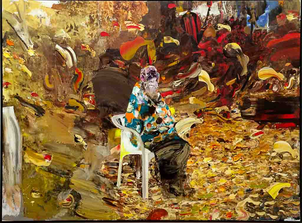 adrian-ghenie,painting,2018,jungles-in-paris,ropac,christies,auction
