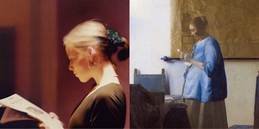 gerhard richter, hyperréalisme, hyperrealism, photo réalisme, lesende