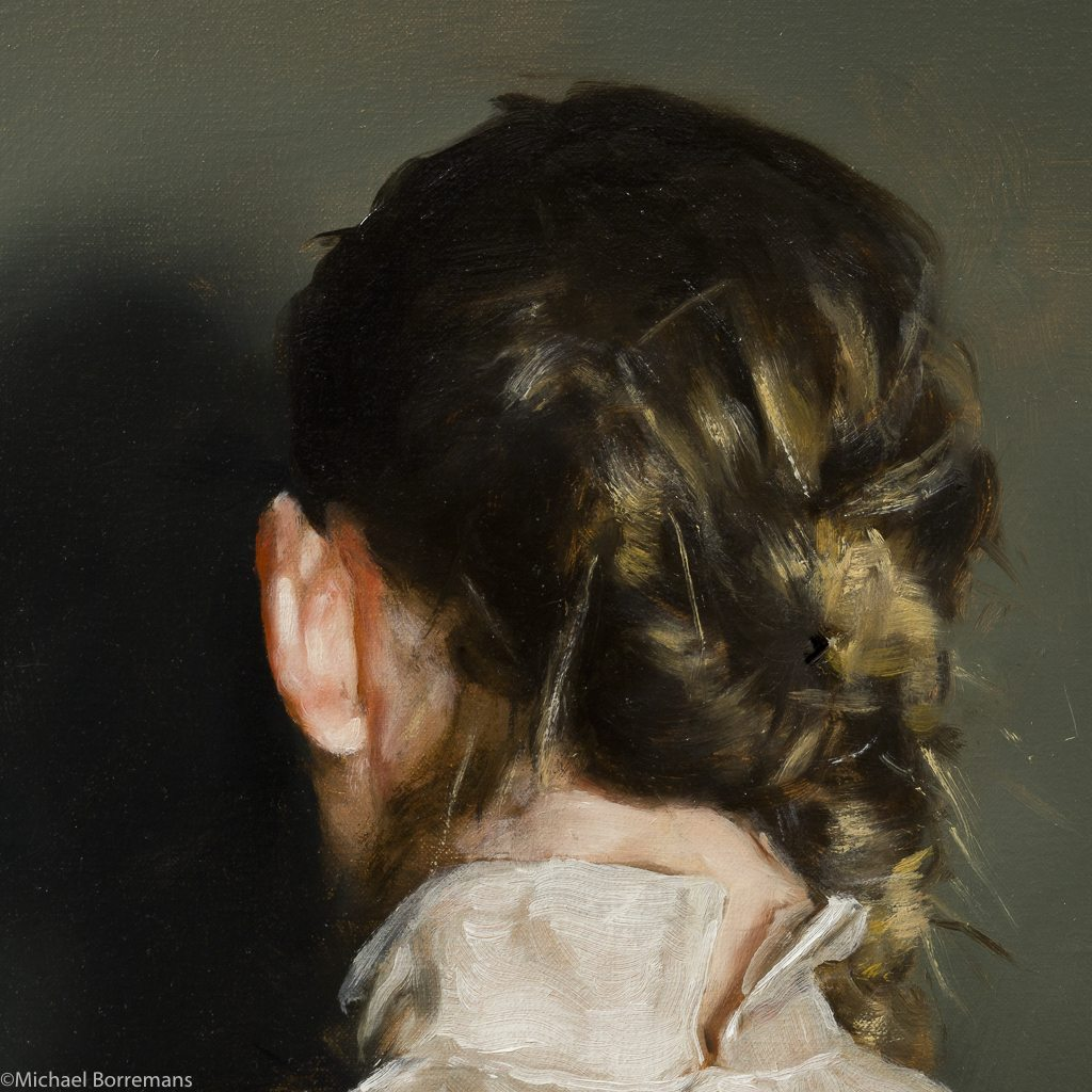 michael borremans, peinture, portrait, belgium, bozar, brussels, realisme, art-contemporain