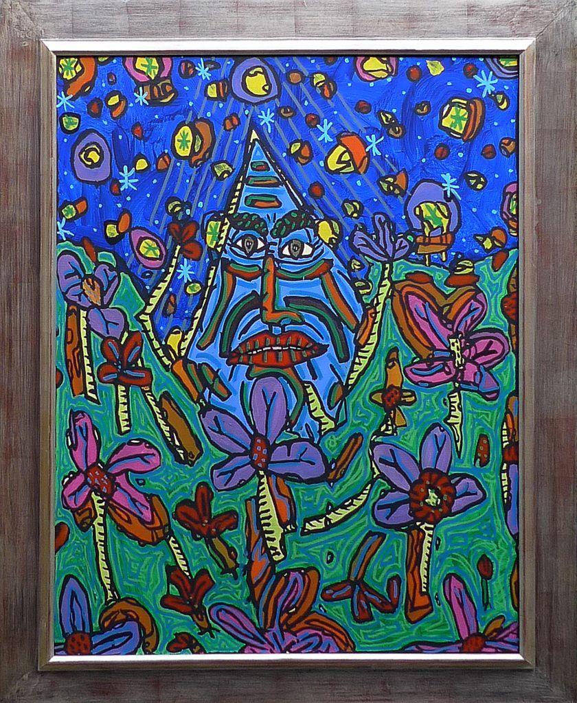 robert combas, combas, figuration-libre, peinture