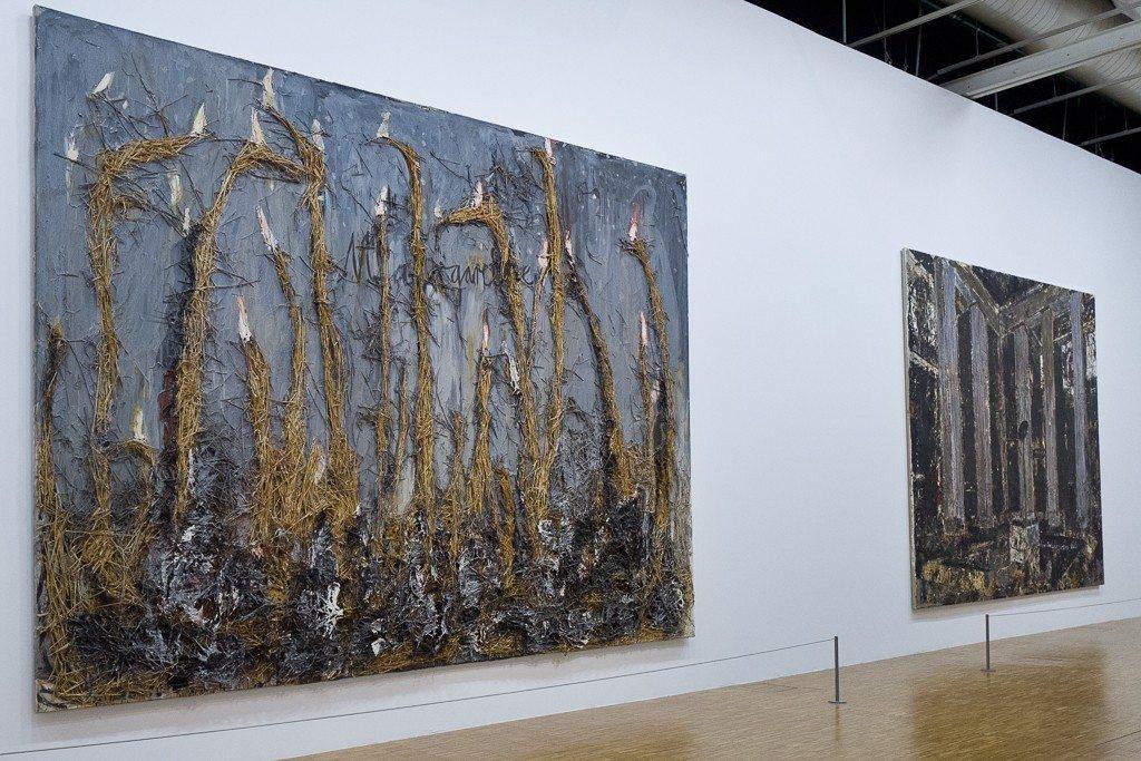 anselm-kiefer, centre-pompidou, retrospective, exhition, museum, painting, paris, france, 2016, 2015