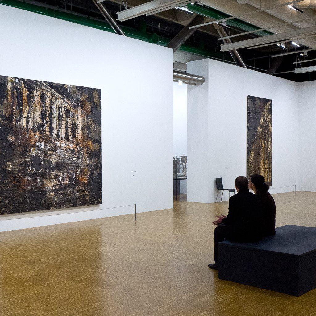 anselm kiefer, centre-pompidou, retrospective, exhition, museum, painting, paris, france, 2016, 2015