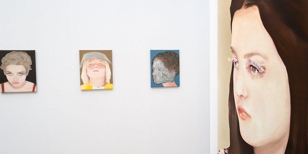 katinka lampe, les-filles-du-calvaire, portrait, painting, art-paris-art-fair, 2016