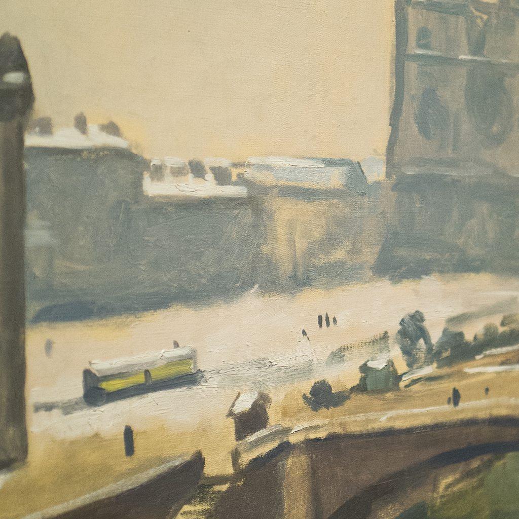 albert marquet, painting, post-impressionism, fauvism, matisse, vallotton, exhibition, paris, france, 2016, mam