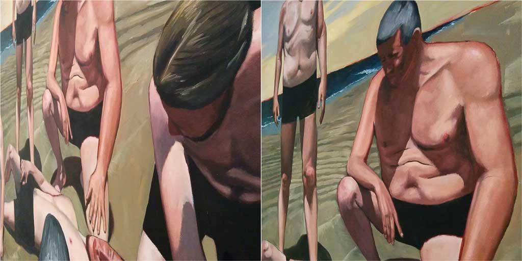 francois-malingrey,painting,neo-realism,courbet,palais-de-tokyo,paris