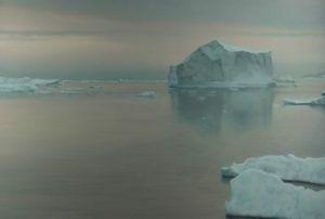 gerhard richter,eisberg,iceberg,painting,hyperrealism,romantism,sotheby's,london,2017,auction