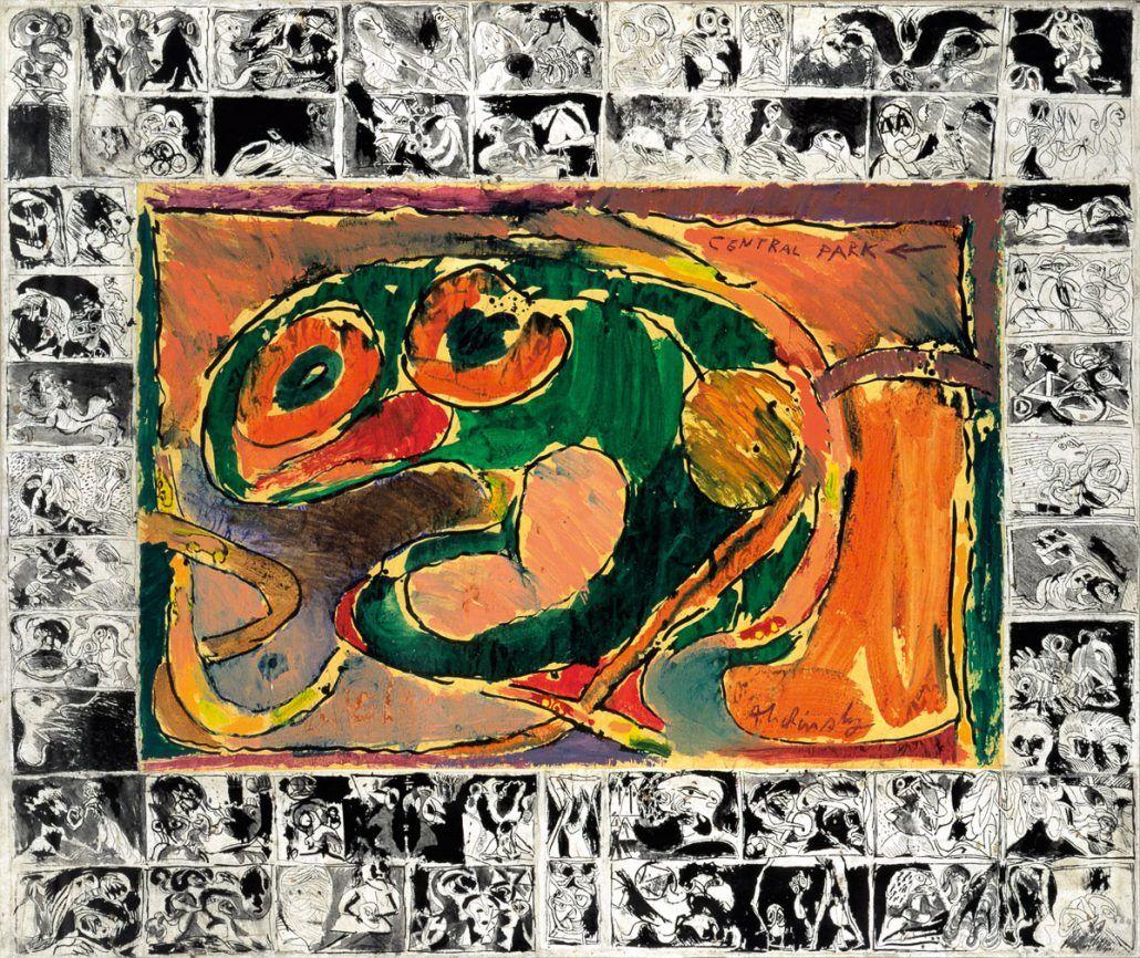 peinture et langage, Pierre Alechinsky