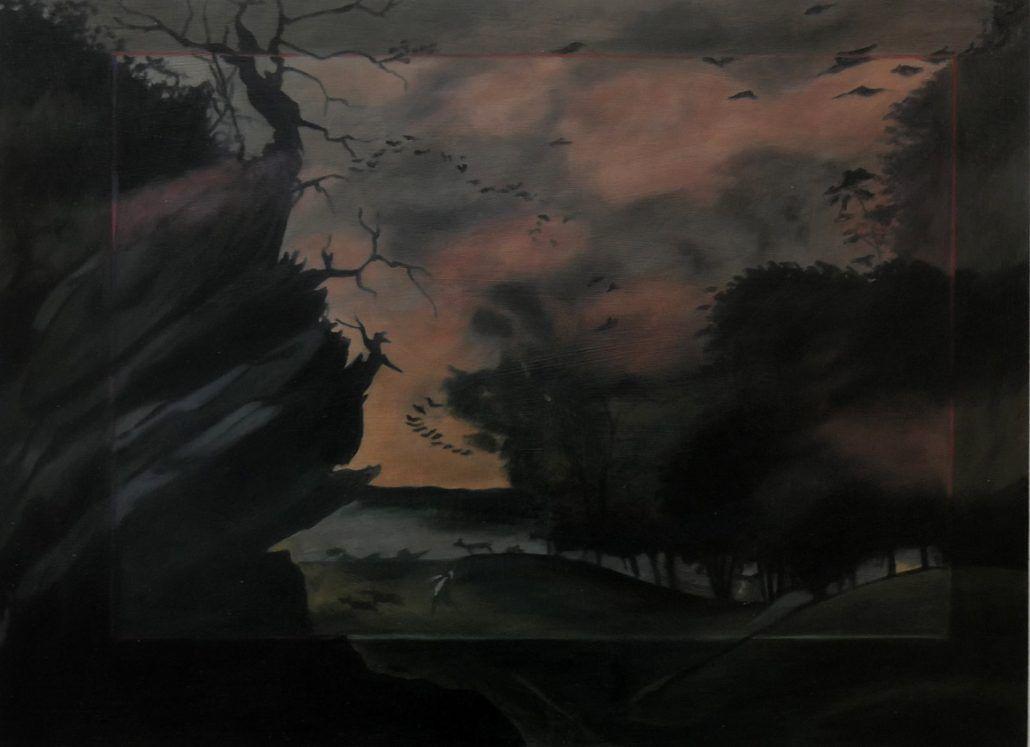 aurore pallet, peinture, artiste peintre