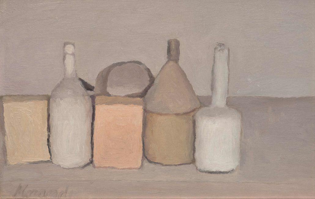 peinture et langage, giorgio morandi