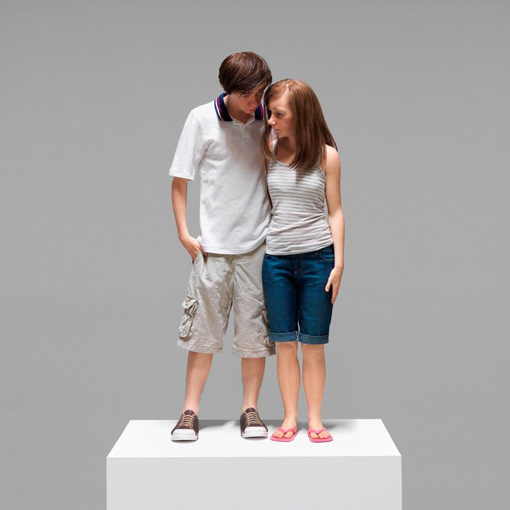 ron mueck, hyperrealism, sculpture, exhibtion, houston, 2017, MFA