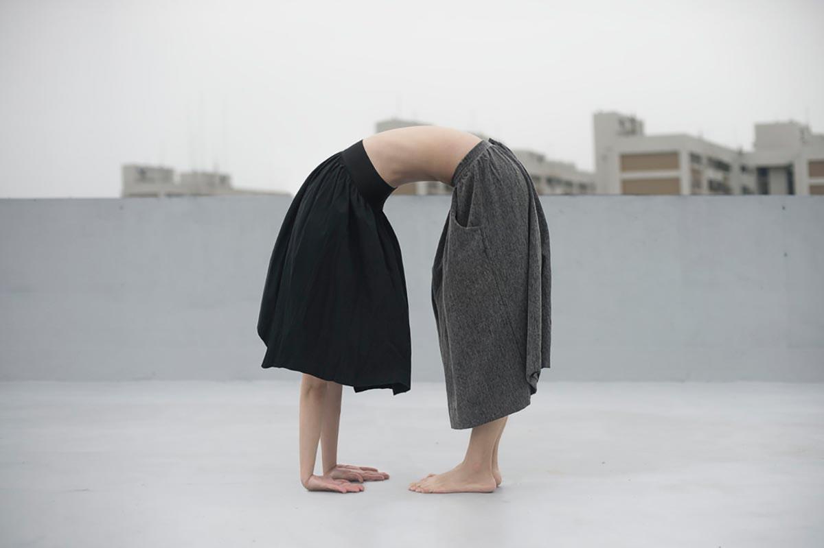 Yung-Cheng Lin, photographie, hybridation, surrealism, nude, woman, body, bondage