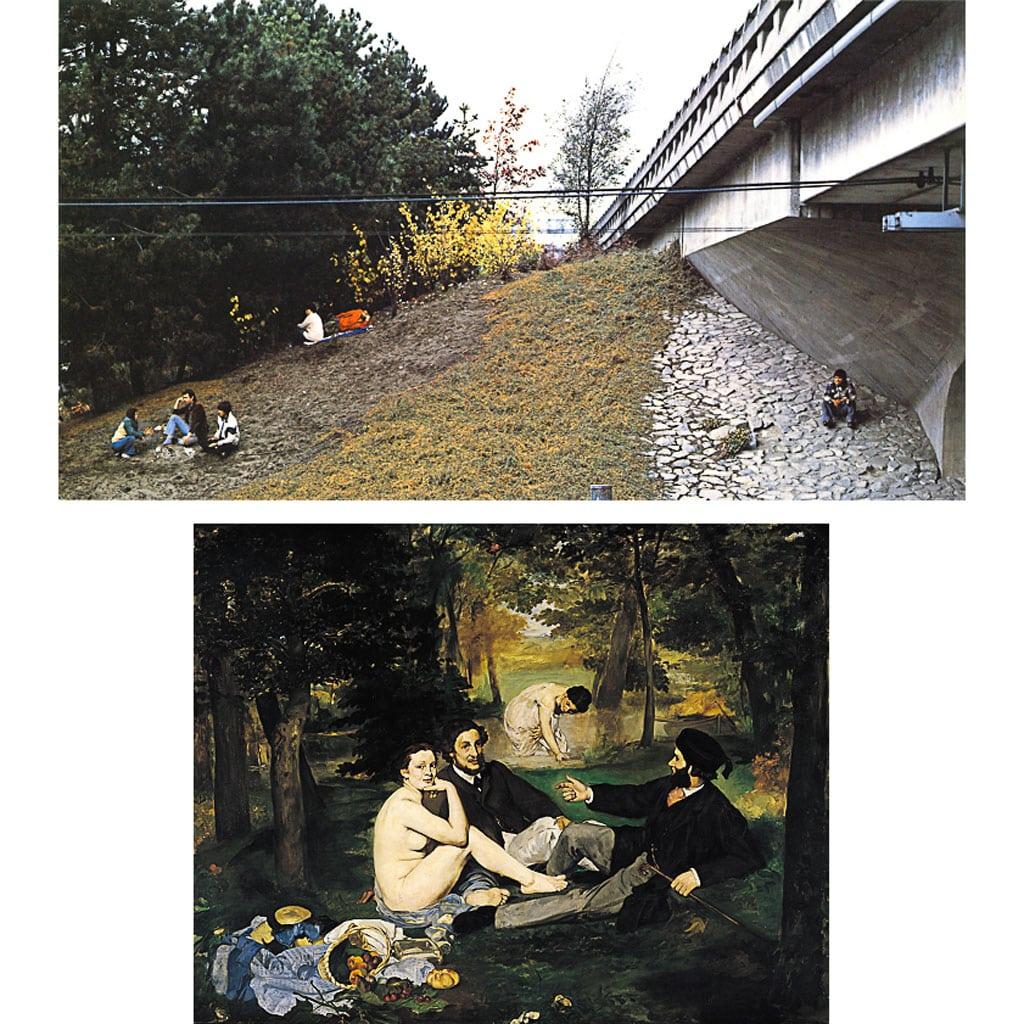 Jeff-wall,-the-storyteller,-photography,-edouard-manet,-le-dejeuner-sur-l'herbe