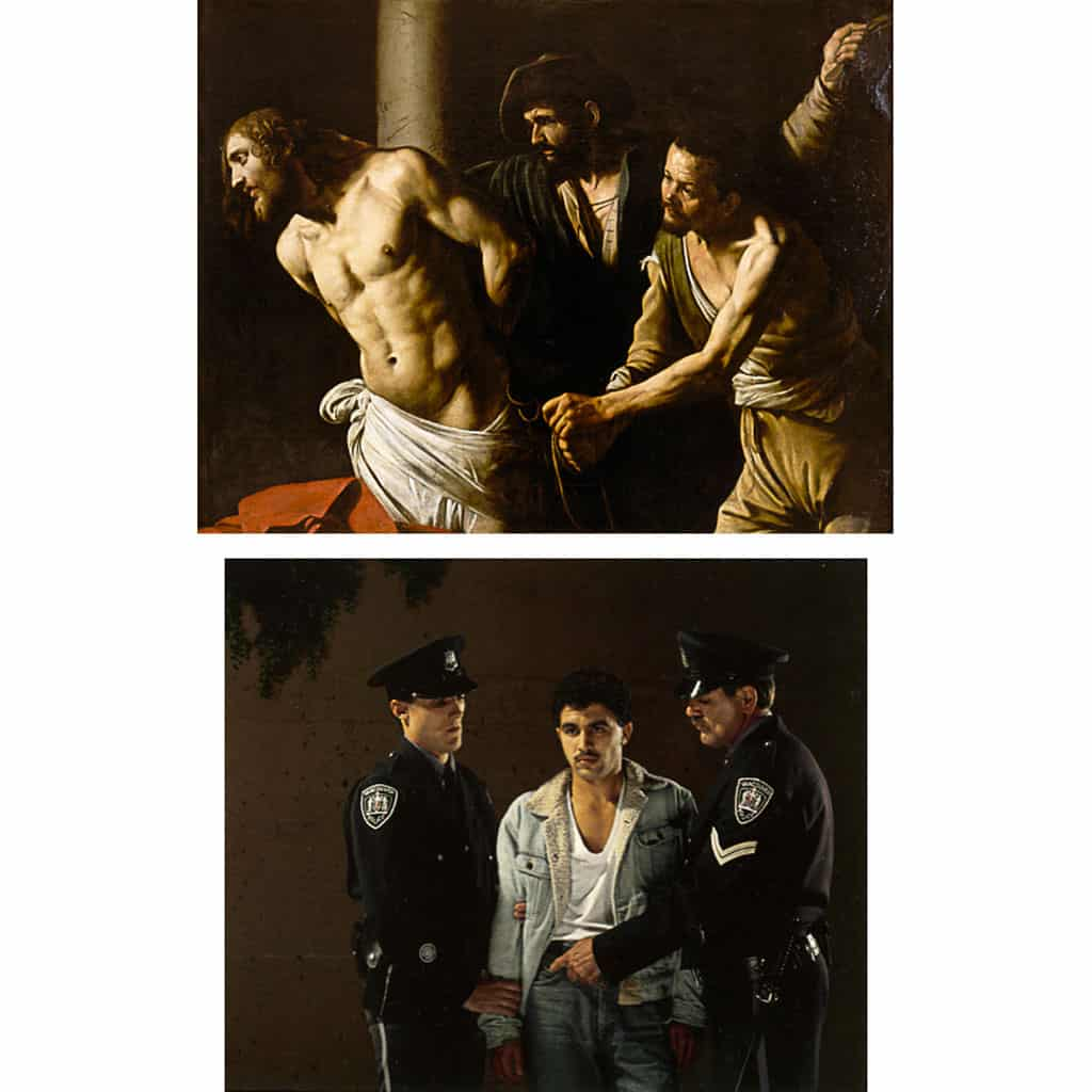 caravage,-flagellation,-christ,-jeff-wall,-the-arrest,-photography