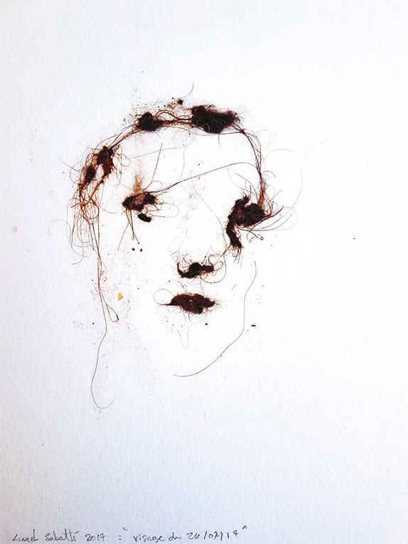 lionel sabatte, art contemporain, exposition, Drawing Now, sculpture, artiste peintre, dessinn, installation