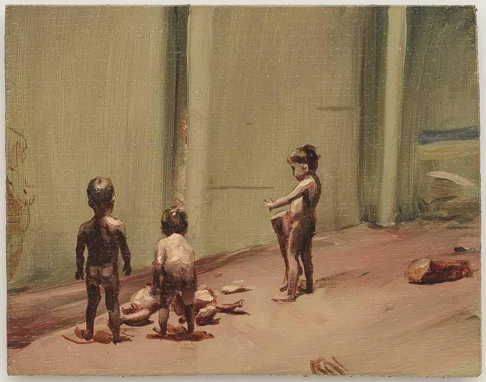 michael-borremans, artiste-peintre, painting, art-exhibition, sixteen-dances, zeno-x-gallery, 2017