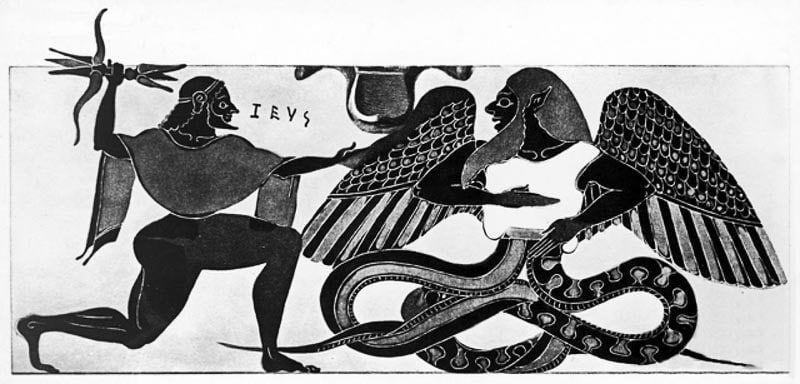 dragon, mythologie, christianisme, iconographie