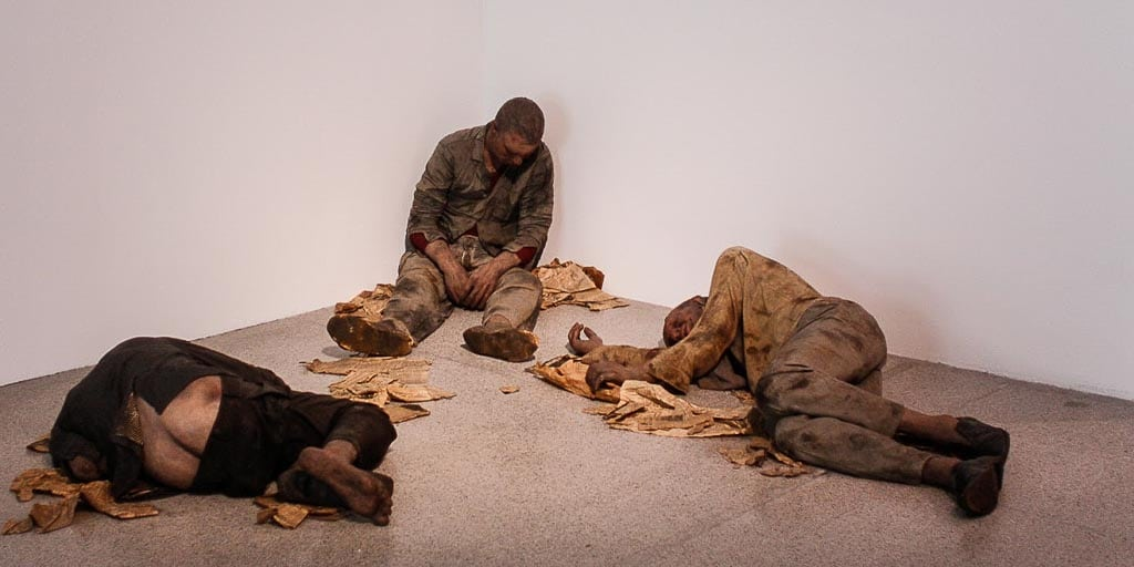 duane hanson, sculpture, hyperrealism, pop art