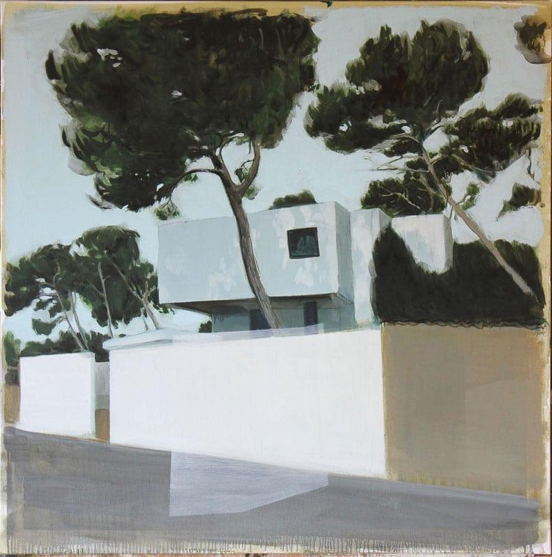 jeremy liron,painting,exposition,galerie-isabelle-gounod,paris,2017,architecture