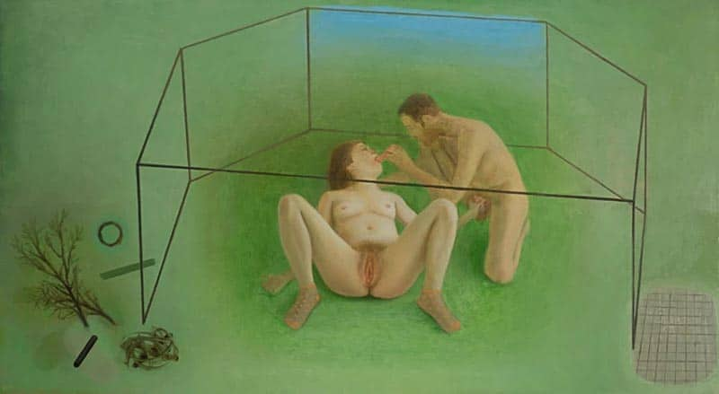 marion-bataillard,painting,nudity,sexuality,realism,naturalism,salon-de-montrouge
