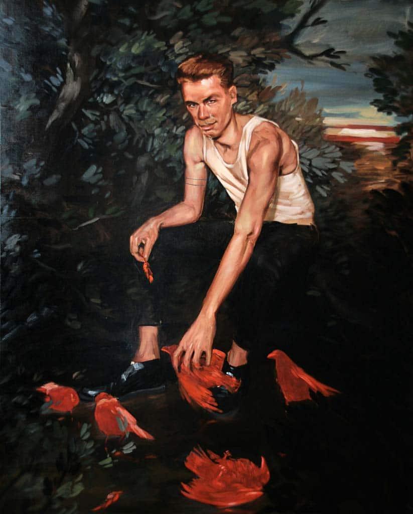 jean-baptiste-boyer,painting,realism,néo-réalisme,exhibition,galerie-laure-roynette,paris,france