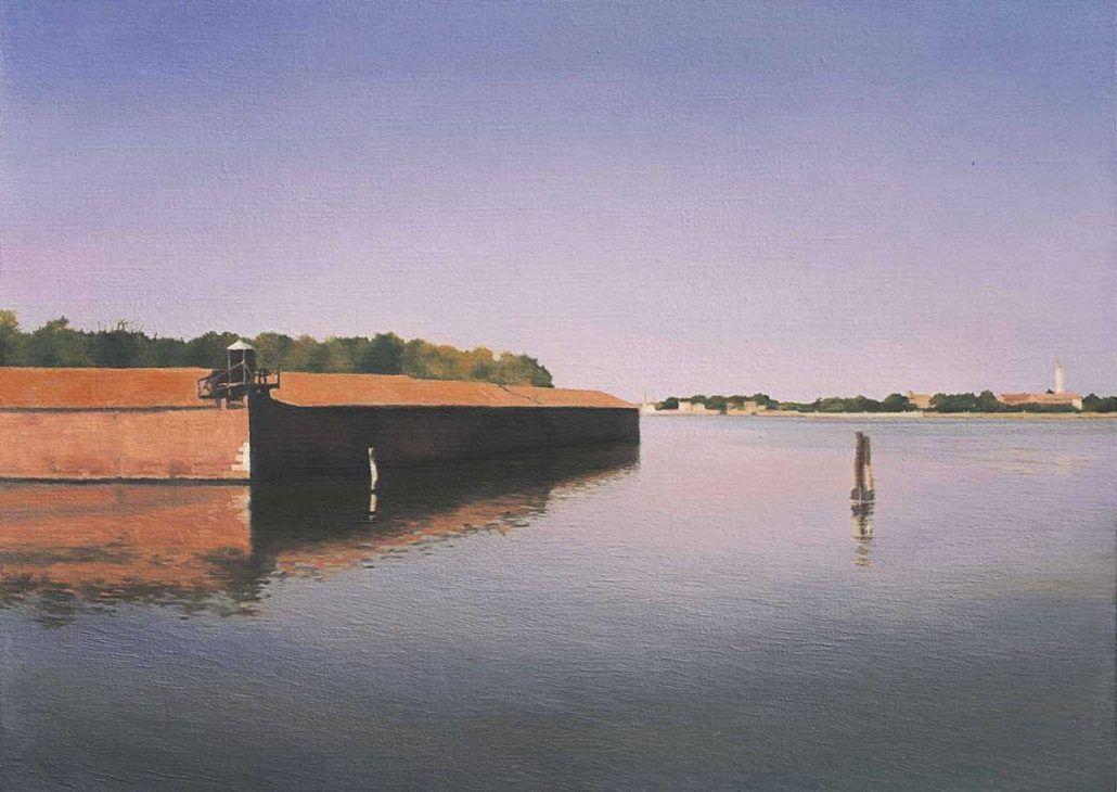 gerhard-richter,venice,island,painting,photo-realism