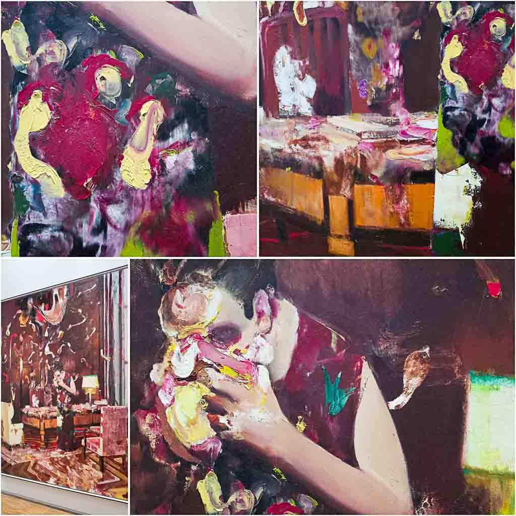 adrian-ghenie,painting,2018,jungles-in-paris,ropac,centre-pompidou