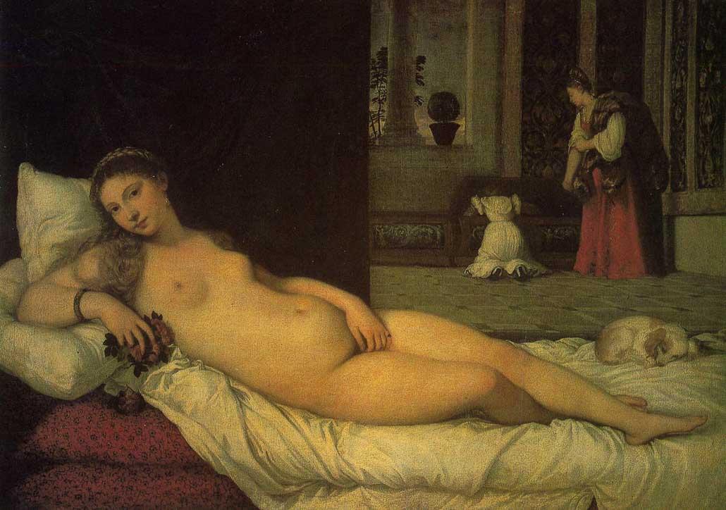 Titien, Venus d'Urbino